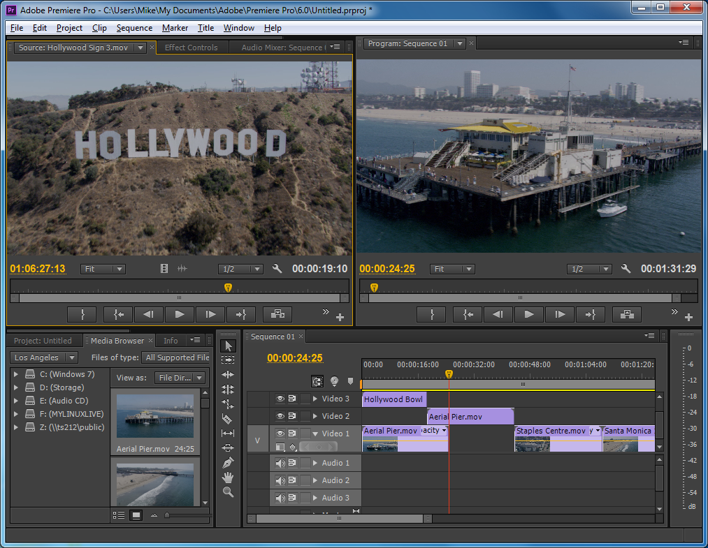 Screenshot Adobe Premiere Pro CS6 Multilanguage Update Full Version