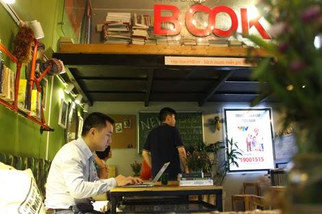 Thư giãn cuối tuần với Cafe sách