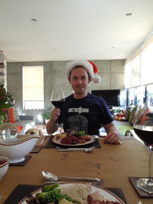 Christmas dinner Jason