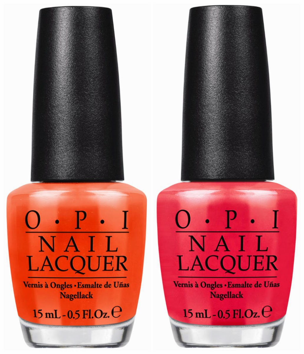 OPI Summer 2014 Little Bits of Neon Nail Polishes: Review and ...