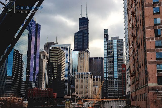 Chicago skyline Photography