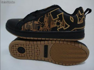tenis dc shoes- brown