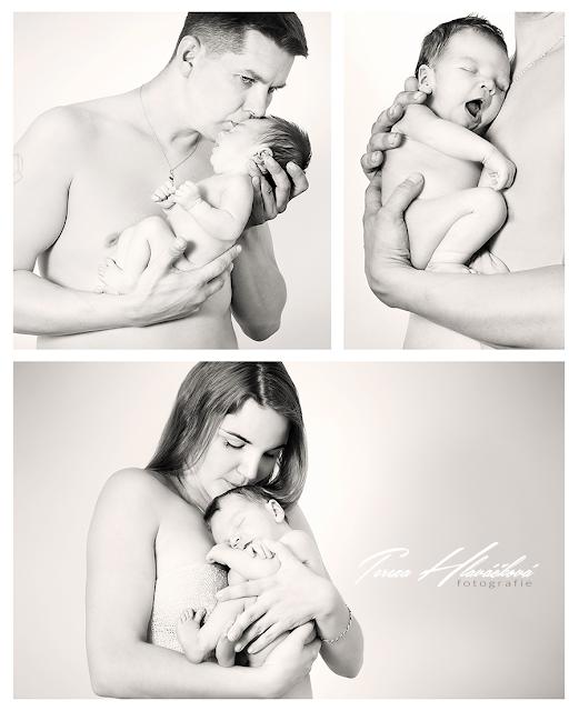 Tereza Hlaváčková fotografie, fotograf Karviná, focení novorozenců v ateliéru Karviná