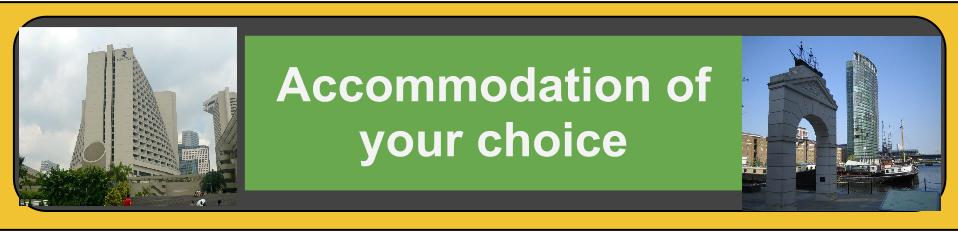 Acomodations of your choice