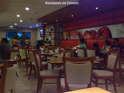 Jodie's Pan Pizza: Ambiente interno da loja do Hiper
