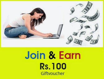 Buy  Register on Amazon and Get Rs.100 off Gift-voucher for Free amazon