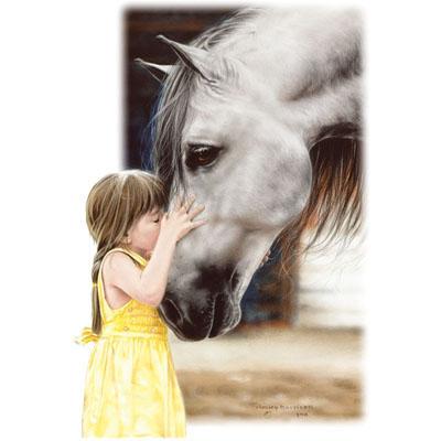 Lupus in Flight: BENEDICTION OF A HORSE