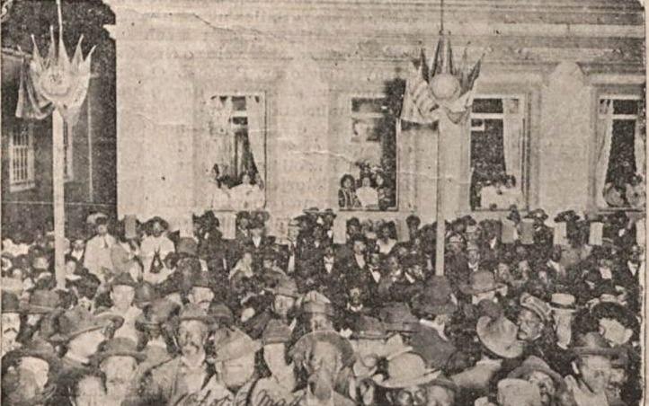 VISITA PRESIDENTE RODRIGUES ALVES EM BARBACENA 1904 RECEBIDO POR DR BIAS FORTES