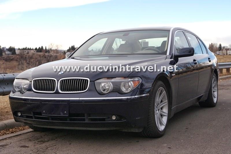 Cho thuê xe BMW 745Li Vip 1