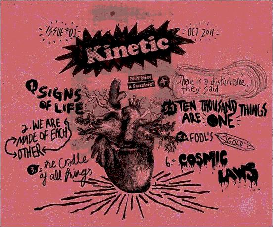 Kinetic V5 - Website design using drawings and illustration
