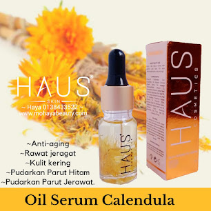 HAUS COSMETICS OIL SERUM CALENDULA