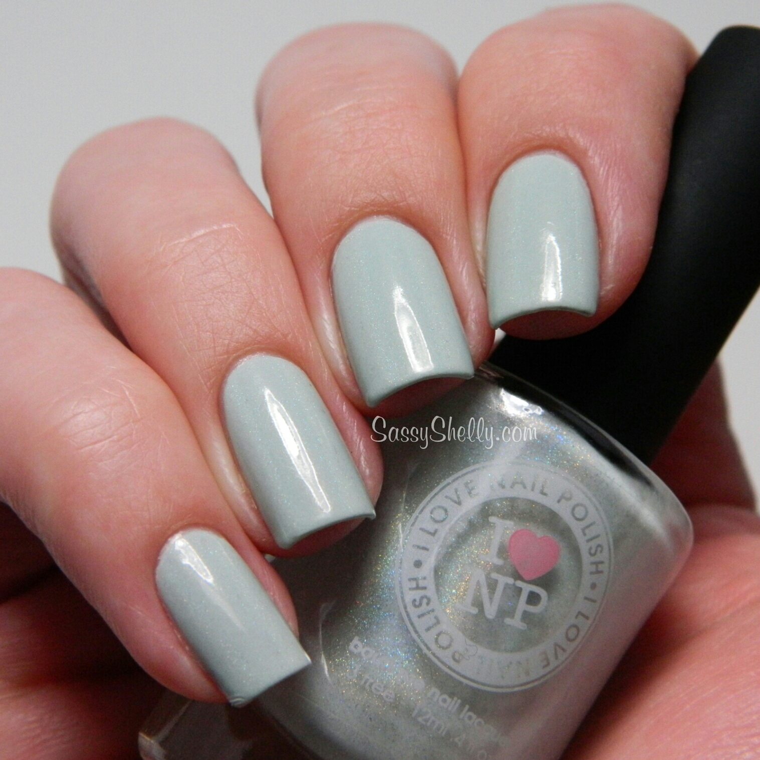 I Love Nail Polish ~ Simply Adorablue & A Touch Of Mint | Sassy ...