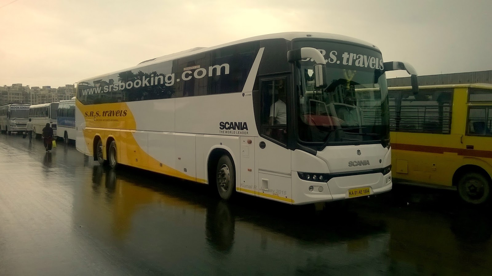 A Scania Volvo Mercedes Benz Bus And Vehicle Enthusiast From India