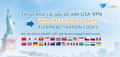 Obtenir FlyVPN 7 jours code d'activation gratuite