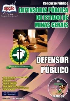 Apostila CONCURSO Defensoria Pública MG para Defensor Público - DPMG