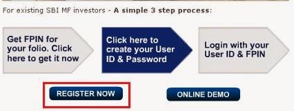 SBI MF Online Registration