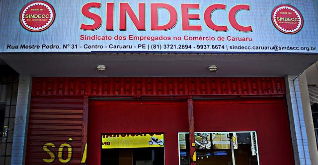 Não Funcionamento do SINDECC no dia 29 de junho.