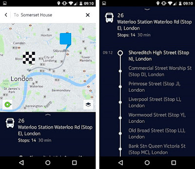 HERE Maps for Android updated with new contextual menu