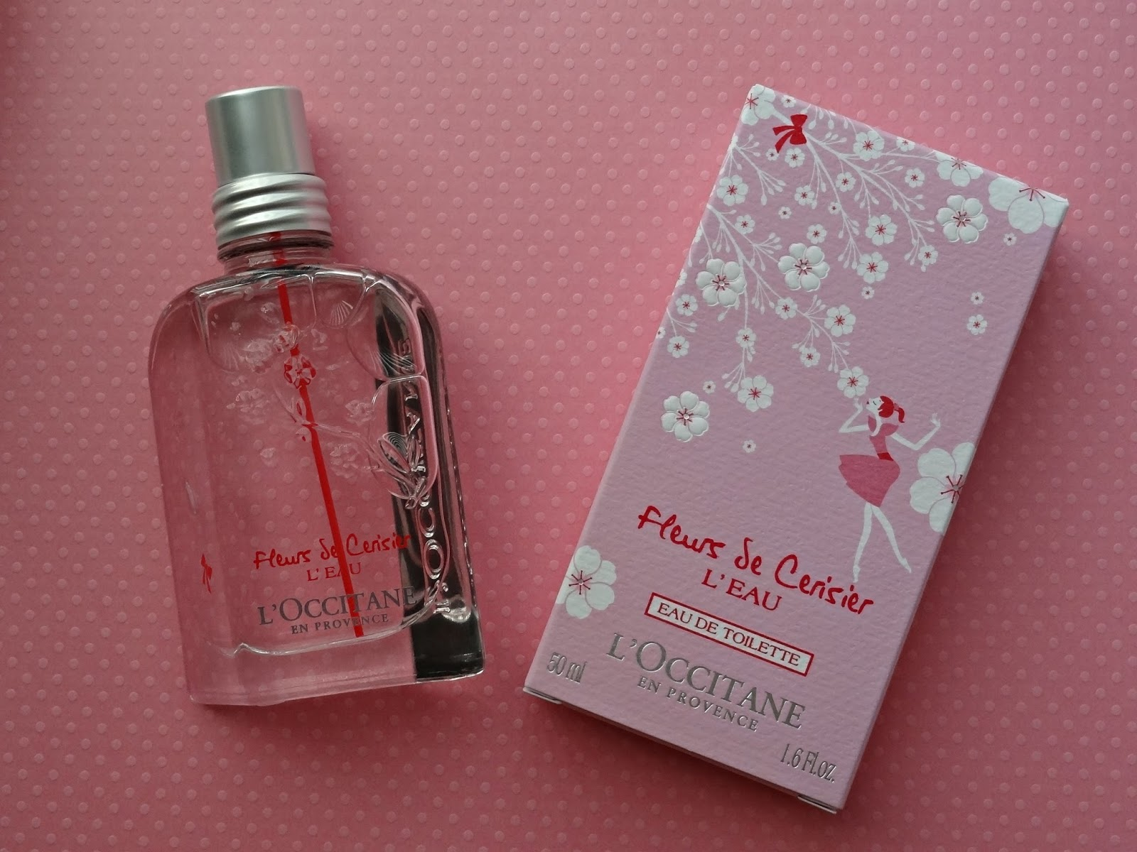 L'Occitane Fleurs de Cerisier L'Eau Collection - Eau de Toilette and Shower Milk
