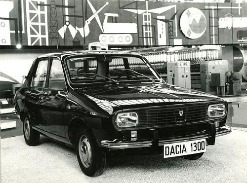 Romanian Car Dacia 1300 front view