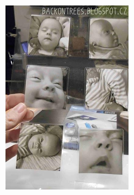 DIY Fotografické magnety na lednici