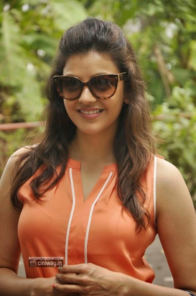 Kajal-Agarwal-Stills-at-Anand-Niketan-for-Her-Birthday-Celebration