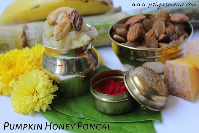 Pumpkin Honey Pongal