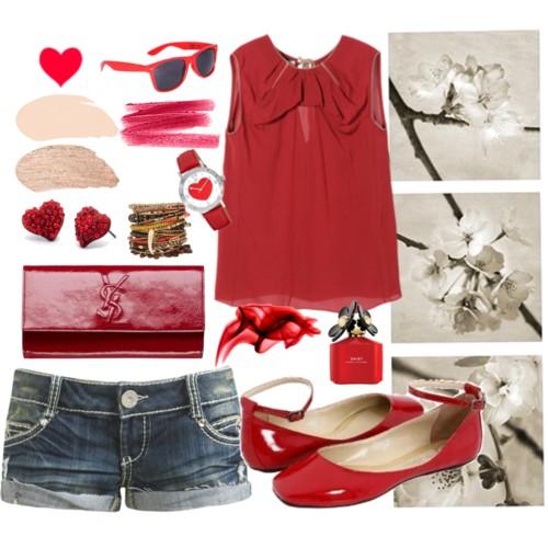 kırmızı modası