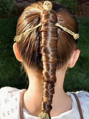 peinados infantiles 2014 fiestas de disfraces