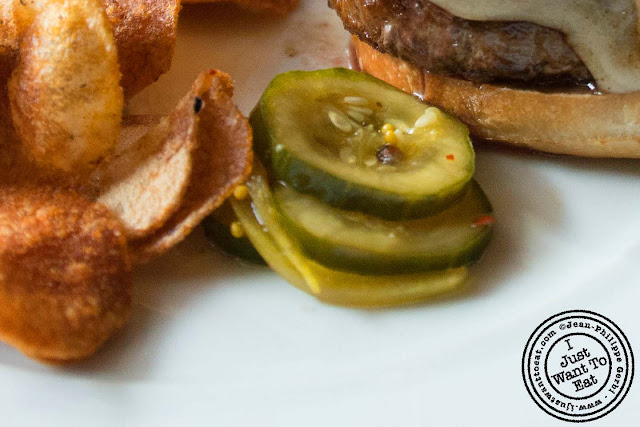 Image of the Pickle from the burger at Colicchio and Sons in NYC, New York