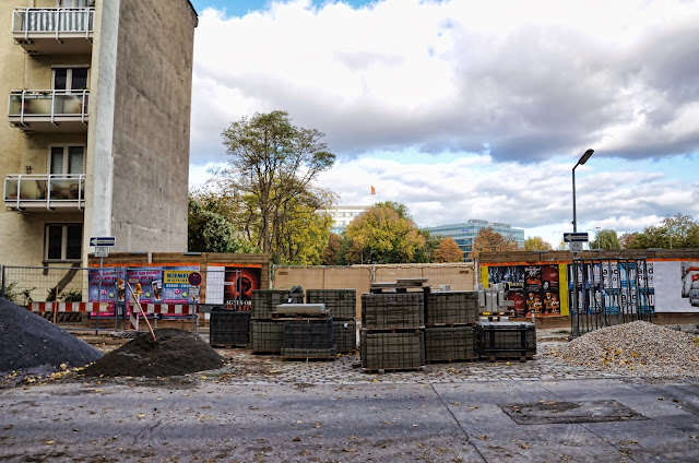 Baustelle Lützowplatz / Wichmannstraße / Lützowufer, Wichmannstraße, 10787 Berlin, 18.10.2013