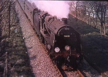 U class 31639 railtour 20/03/66