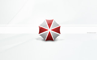 Resident Evil Umbrella Corperation Logo Minimal Hd Wallpaper