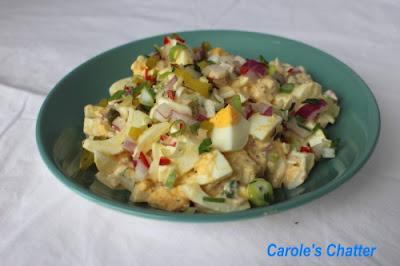 Egg Salad: Carole's Chatter