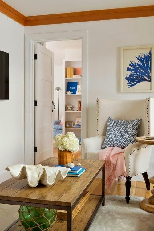 Lee caroline a world of inspiration interior designer for Beach cottage interior design ideas