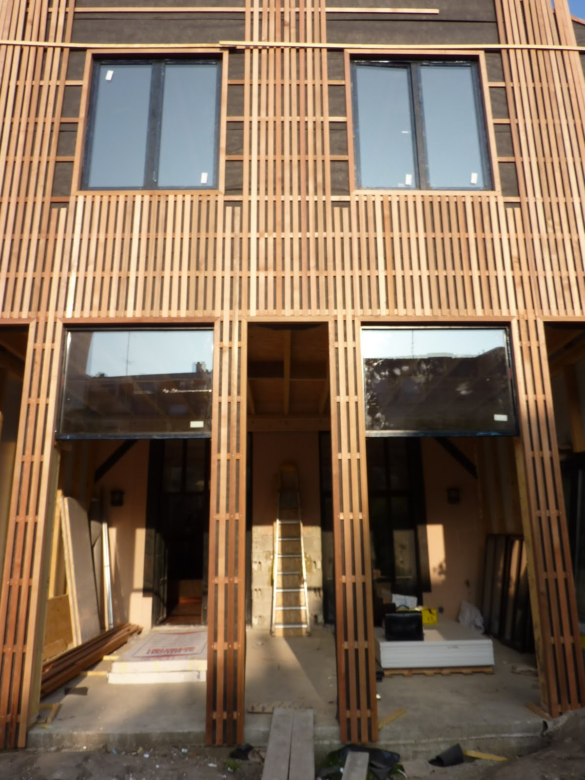 Extension bois montreuil 93 modern architecture group for Extension maison 93