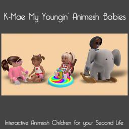K-Mae Animesh Interactive Babies