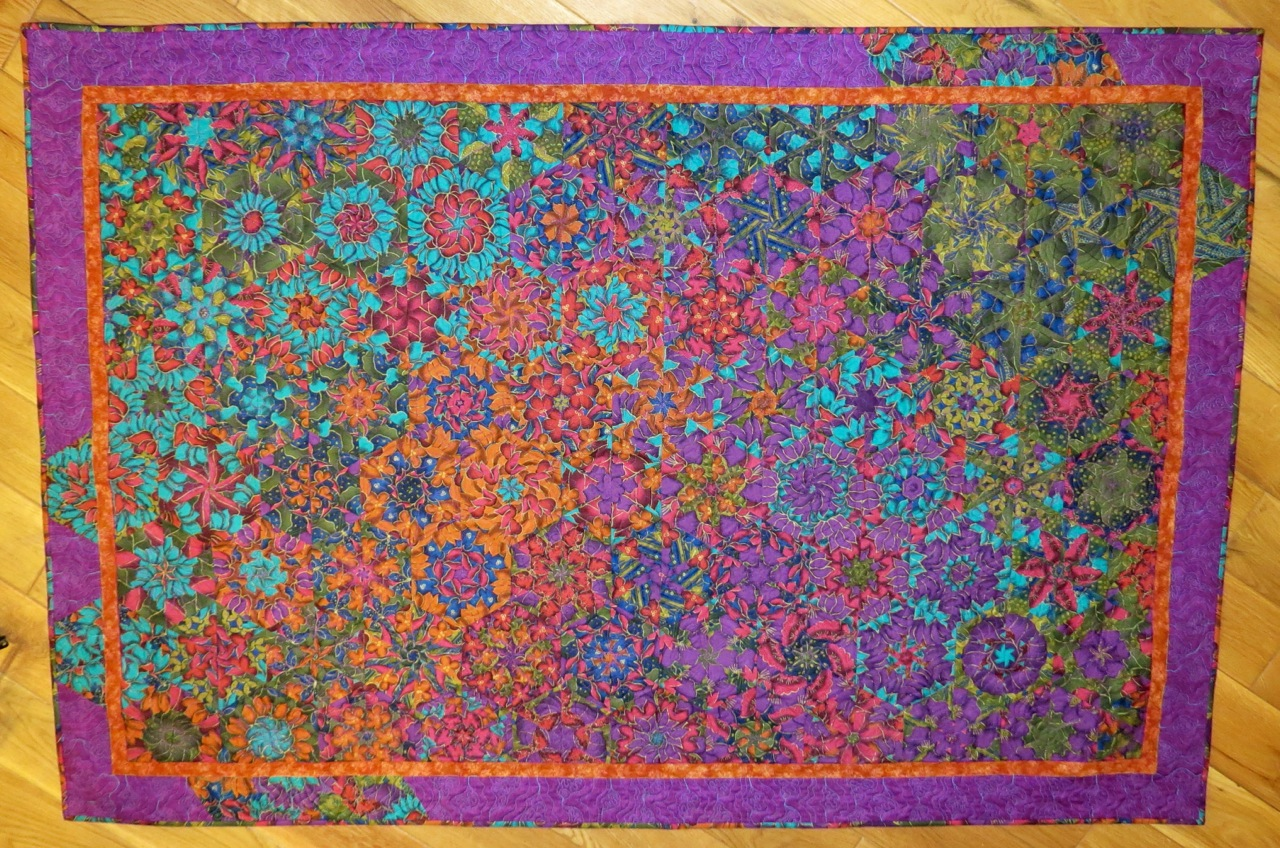 how to choose fabric for a one block wonder quilt