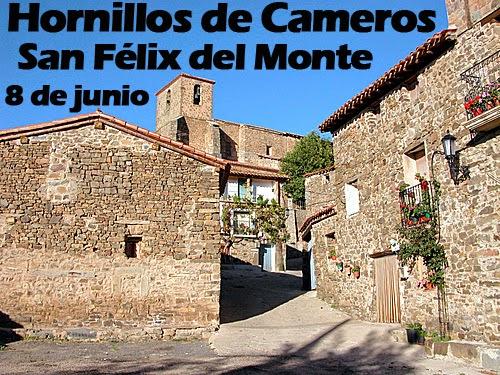 8 de junio: San Félix del Monte en Hornillos de Cameros.