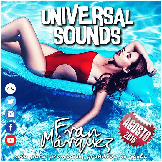 Universal Sounds Agosto 2015 - Fran Márquez