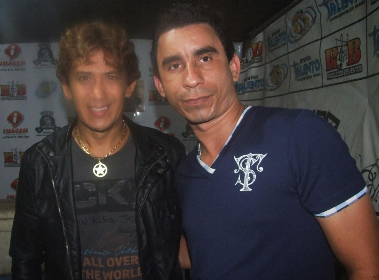 Joabe Reis e o cantor Julio Nascimento