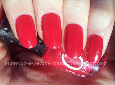 Orly Mini Smalto Monroe's Red swatch