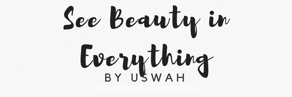 See beauty in everything
