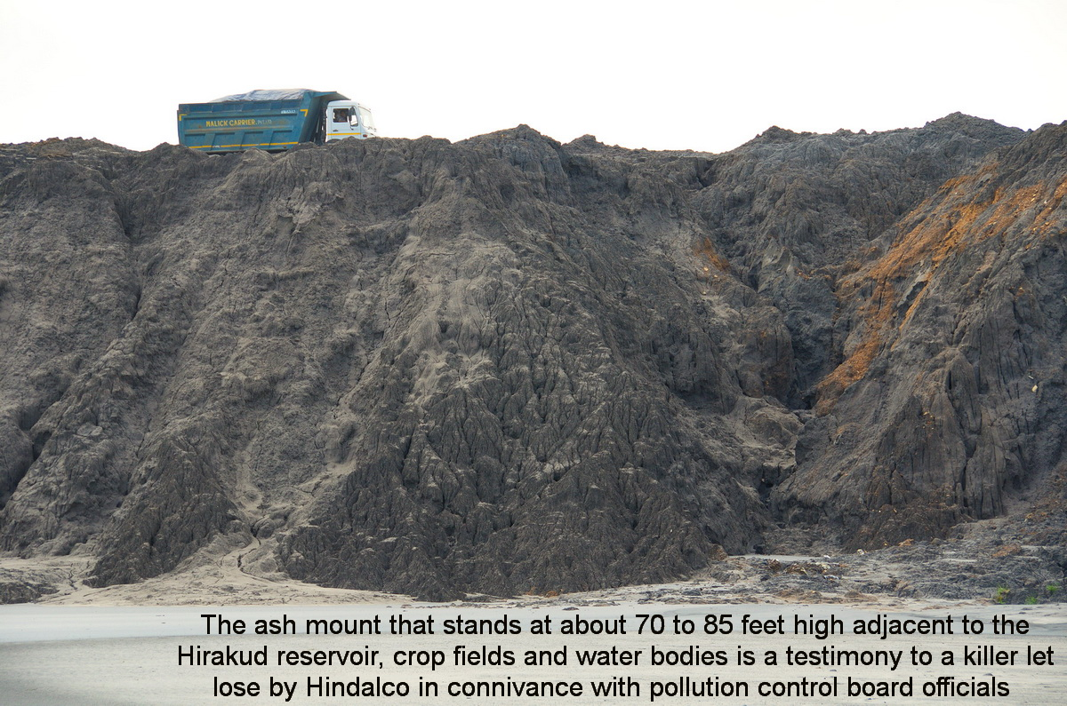 Climatecrusaders wio update i on hindalco 39 s ash pond for Design of ash pond