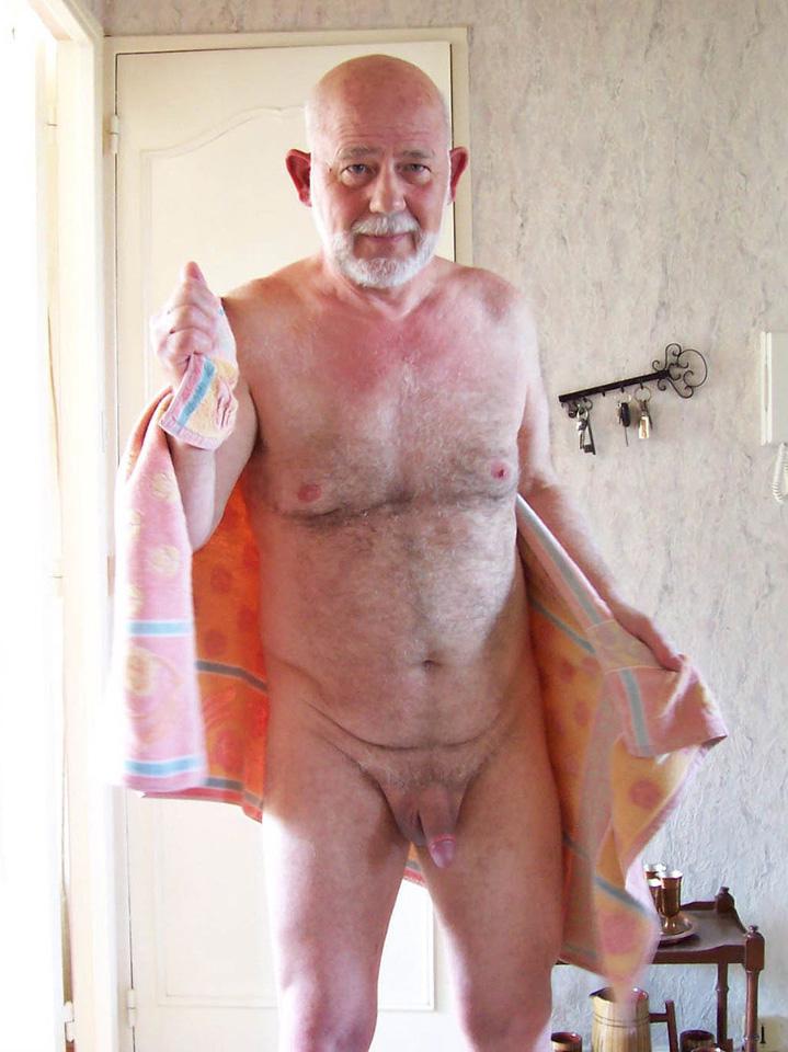 hairy grandpa naked - sexy oldermen naked
