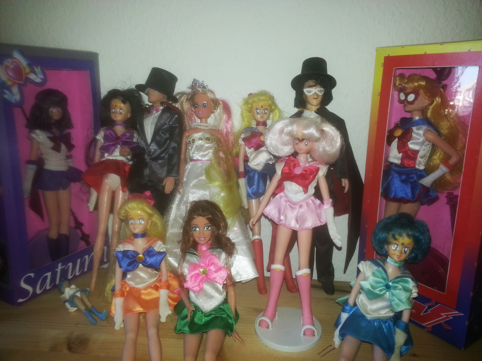 Sailor Moon dolls