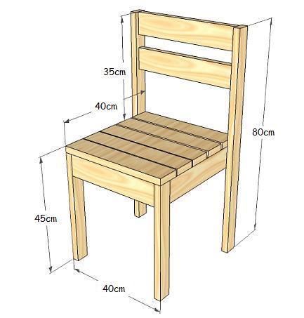 Planos hacer cosas con madera hazlo tu mismo taringa for Sillas hechas de palets