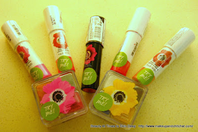The Body Shop Spring Makeup Collection