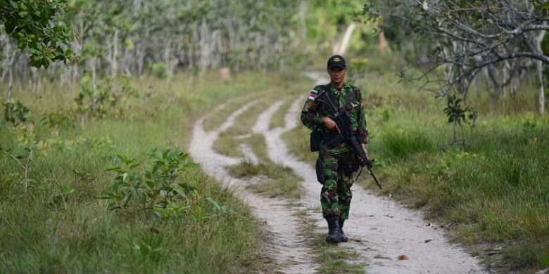 TNI Akan Tambah 17 Pos Baru di Perbatasan Indonesia-Malaysia