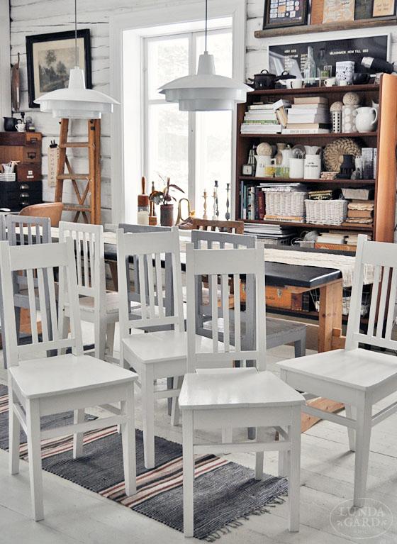 Udda Koksstolar : retro koksstolar  , lantliv, vintage, forg & form Renoverade gamla